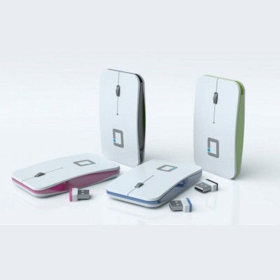Picture of WAFER CORDLESS MOUSE in White