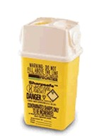 Picture of SHARPSAFE CONTAINER in Yellow