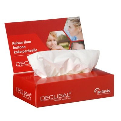 Picture of TISSUE CLASSIC 100 PLUS BOX with Folding Up Advertising Lid