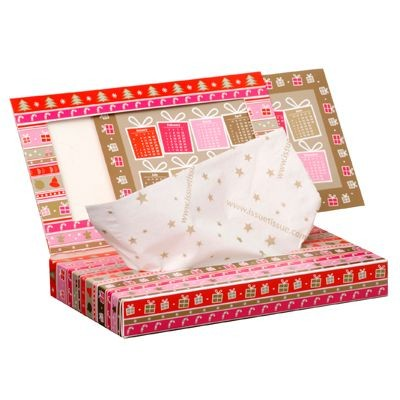 Picture of GREETING CARD PHOTO TISSUE BOX