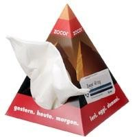 Picture of PYRAMID 50 TISSUE BOX