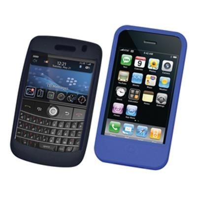 Picture of SILICON MOBILE PHONE HOLDER TO FIT MOST IPHONES OR BLACKBERRY
