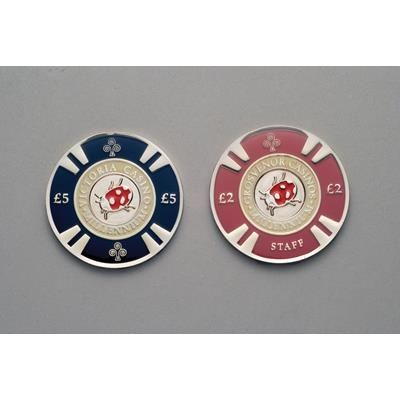 Picture of BESPOKE METAL POKER CHIP