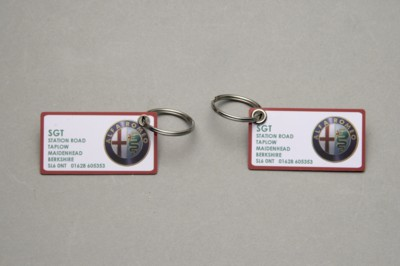 Picture of PRINTED PLASTIC CARD KEYRING
