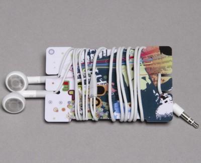 Picture of EARPHONES WINDER CARD