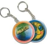 Picture of LENTICULAR ROUND KEYRING