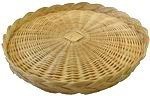 Picture of WICKER SERVING TRAY