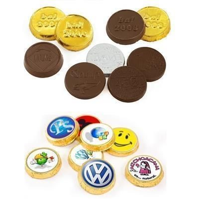 Picture of 30MM MILK CHOCOLATE COIN