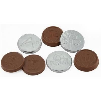 Picture of 35MM MILK CHOCOLATE COIN