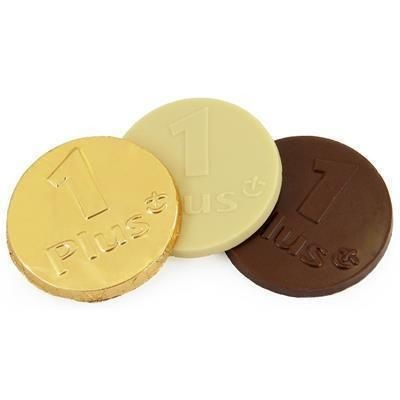 Picture of 75MM MILK CHOCOLATE COIN