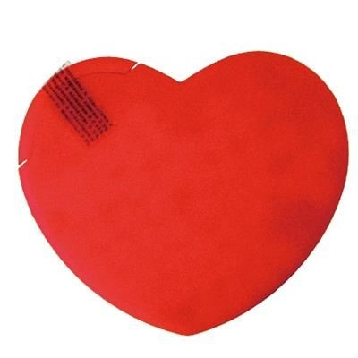 Picture of HEART SHAPE MINTS CARD in Red