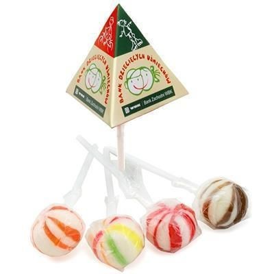 Picture of PYRAMID BALL SHAPE LOLLIPOP
