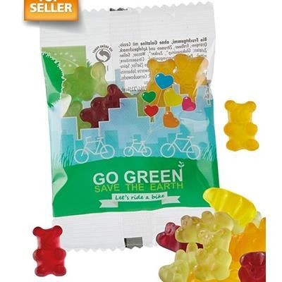 Picture of VEGAN ORGANIC FRUIT GUM JELLY BEARS