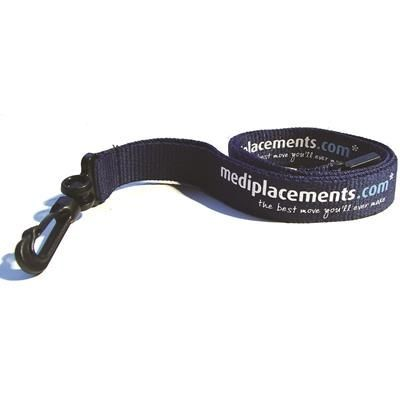 Picture of FLAT POLYESTER LANYARD