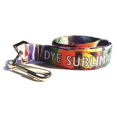 Picture of PET PLASTIC DYE SUBLIMATION PRINTED LANYARD