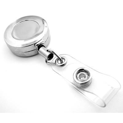 Picture of 28MM NICKEL METAL PASS HOLDER with Belt Clip