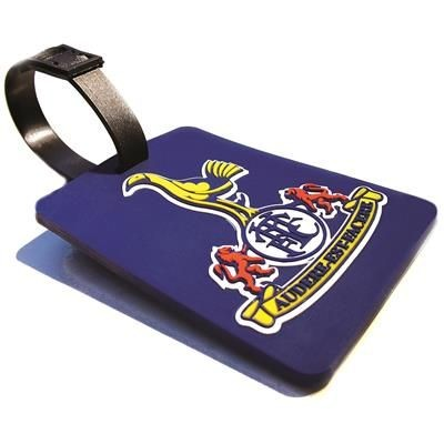 Picture of SOFT PVC LUGGAGE TAG in Stepped 2d Soft PVC