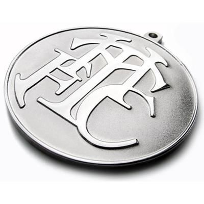 Picture of DIE STAMPED & SANDBLASTED 2-TONE MEDAL