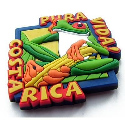 Picture of SOFT PVC FRIDGE MAGNET in 3d Soft PVC