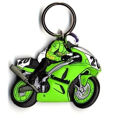 Picture of SOFT PVC KEYRING in 3d Soft PVC