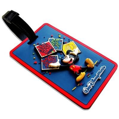 Picture of SOFT PVC LUGGAGE TAG in 3d Soft PVC