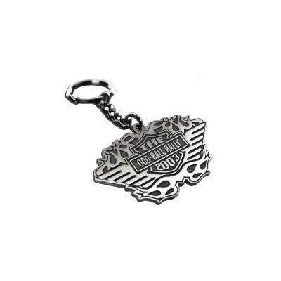 Picture of DIE STAMPED & PLATED KEYRING