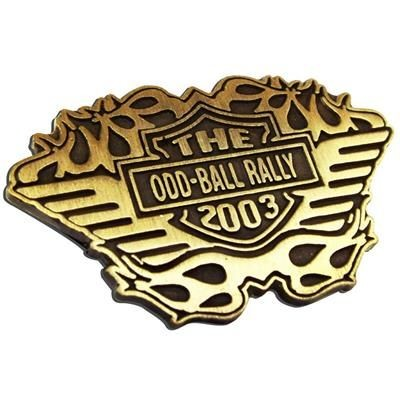 Picture of DIE STAMPED & PLATED BADGE