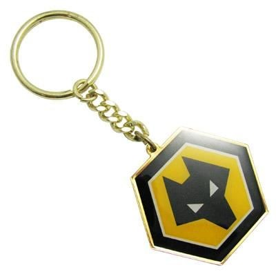 Picture of PRINTED BRASS KEYRING