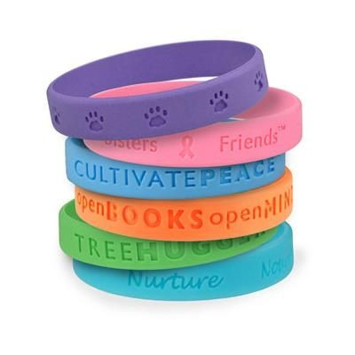 Picture of SILICON WRIST BAND with Moulded Logo