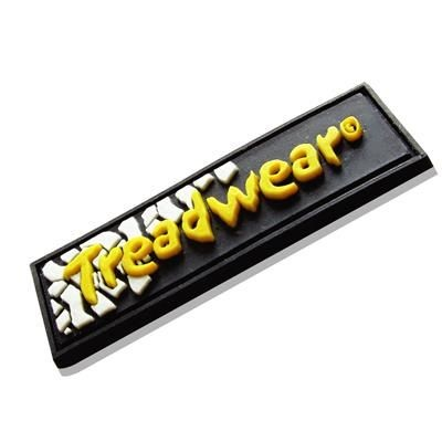 Picture of SOFT PVC CLOTHING PATCH in Stepped 2d Soft PVC