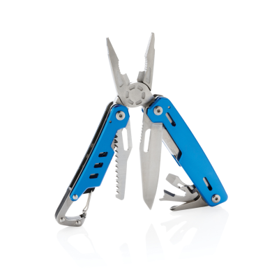 Picture of SOLID MULTI TOOL with Carabiner in Blue