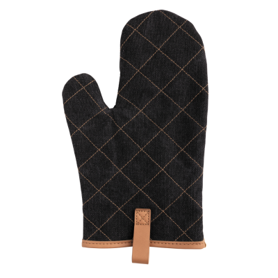 Picture of DELUXE CANVAS OVEN MITT in Black