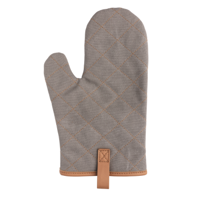 Picture of DELUXE CANVAS OVEN MITT in Grey