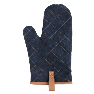 Picture of DELUXE CANVAS OVEN MITT in Blue