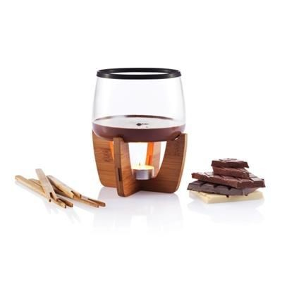 Picture of COCOA CHOCOLATE FONDUE SET in Black