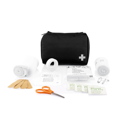 Picture of MAIL SIZE FIRST AID KIT in Black