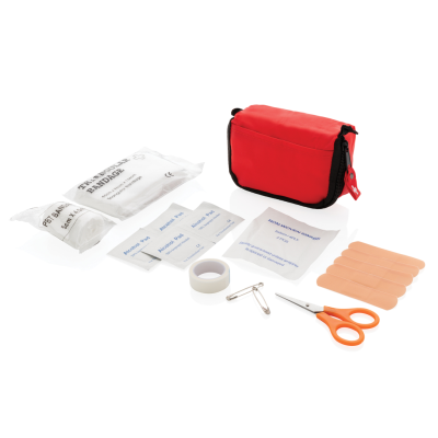 Picture of FIRST AID SET in Pouch in Red