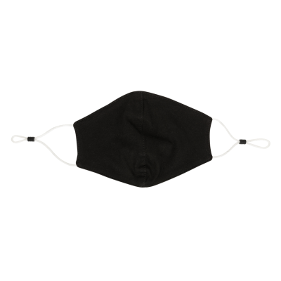 Picture of REUSABLE 2-PLY COTTON FACE MASK in Black