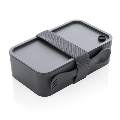Picture of PP LUNCH BOX with Spork in Anthracite Grey