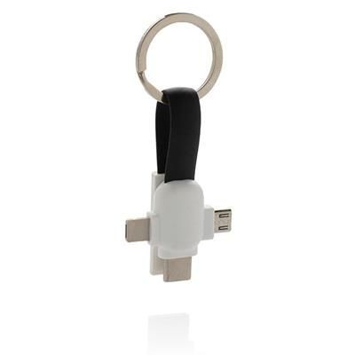 Picture of 3-IN-1 KEYRING CHAIN CABLE KEYRING CHAIN