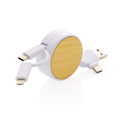 Picture of ONTARIO 6-IN-1 RETRACTABLE CABLE in White