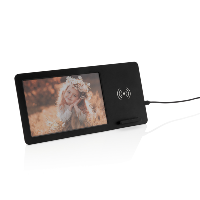 Picture of 5W CORDLESS CHARGER AND PHOTO FRAME in Black