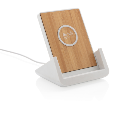 Picture of ONTARIO 5W CORDLESS CHARGER STAND in White