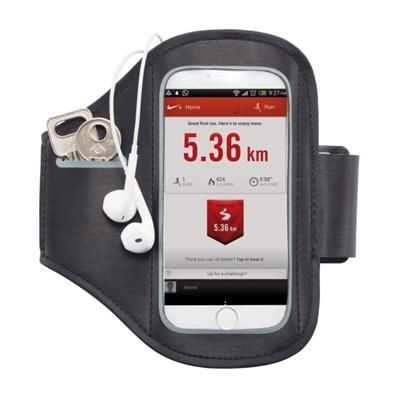 Picture of UNIVERSAL PHONE SPORTS ARM BAND in Black
