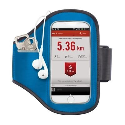 Picture of UNIVERSAL PHONE SPORTS ARM BAND in Blue