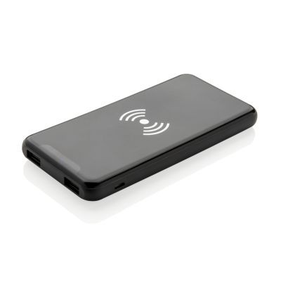Picture of ULTRA SLIM 4000 MAH CORDLESS 5W CHARGER POWERBANK in Black