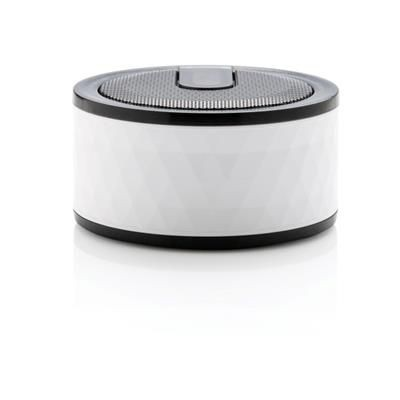 Picture of GEOMETRIC CORDLESS SPEAKER in White