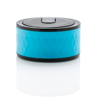 Picture of GEOMETRIC CORDLESS SPEAKER in Blue