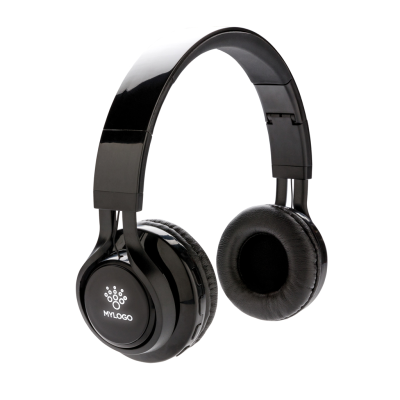 Picture of LIGHT UP LOGO CORDLESS HEADPHONES in Black