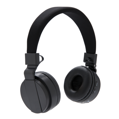 Picture of FOLDING CORDLESS HEADPHONES in Black